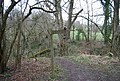 Bridleway junction, Hangers Way - geograph.org.uk - 1202053.jpg