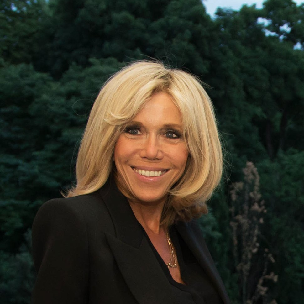 Brigitte Macron - Paris - 2017 - Cropped