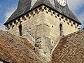 Brignancourt (95), église Saint-Pierre-aux-Liens, clocher, vue depuis le sud-ouest.JPG