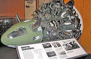 Bristol Centaurus - Preserved Bristol Centaurus engine