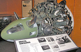 Bristol Centaurus 1930s British piston aircraft engine