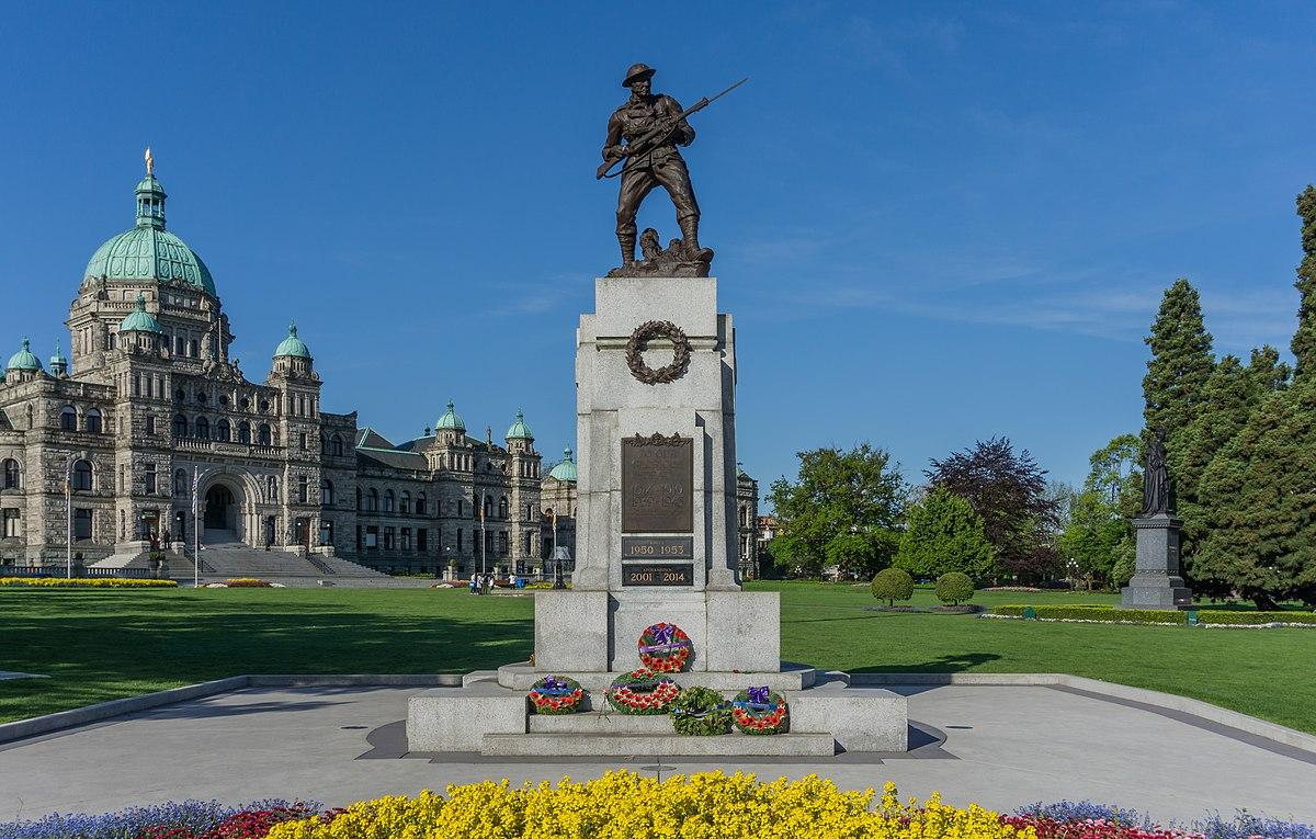 British Columbia Legislature Cenotaph Wikipedia