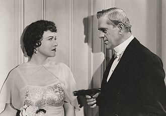 Boris Karloff - Karloff with Margaret Lindsay in British Intelligence (1940)