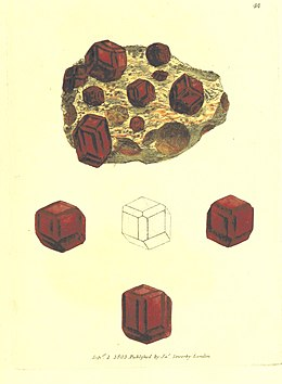 British Mineralogy Vol.1 (1804) p197 T44 SILEX granatus.jpg