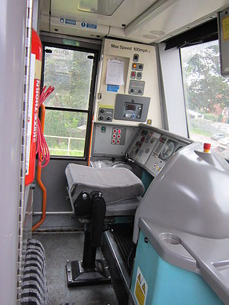 British Rail Class 170 - Driving cab of a 170