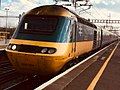 British Rail Class 43 HST power car 43001 at Didcot Parkway station.jpg