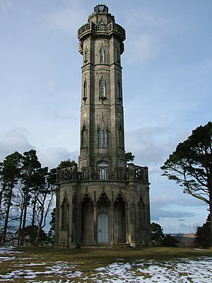 Brizlee Tower - Brizlee Tower in 2006, before its renovation