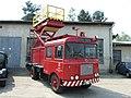 Brno, Řečkovice, montážní vůz s plošinou DPMB II.JPG