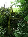 Broken ladder stile on the Oxspring Boundary Walk - geograph.org.uk - 929400.jpg