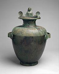 Bronze hydria (water jar)