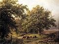 Brook by the Edge of the Woods by Barend Cornelis Koekkoek Kunstmuseum Den Haag 0331766.jpg