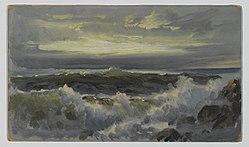 William Trost Richards: A Rough Surf