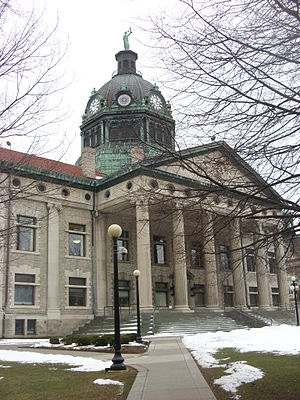 Broome County, New York - Image: Broome County Courthouse Dec 08