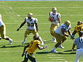 Bruins on offense at UCLA at Cal 2010-10-09 13.JPG