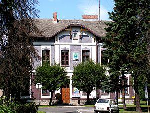 """Brzeszcze - The """"Old Municipality Building"""""""
