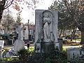 Bucuresti, Romania, Cimitirul Bellu Catolic, (alt inger in iarna).JPG