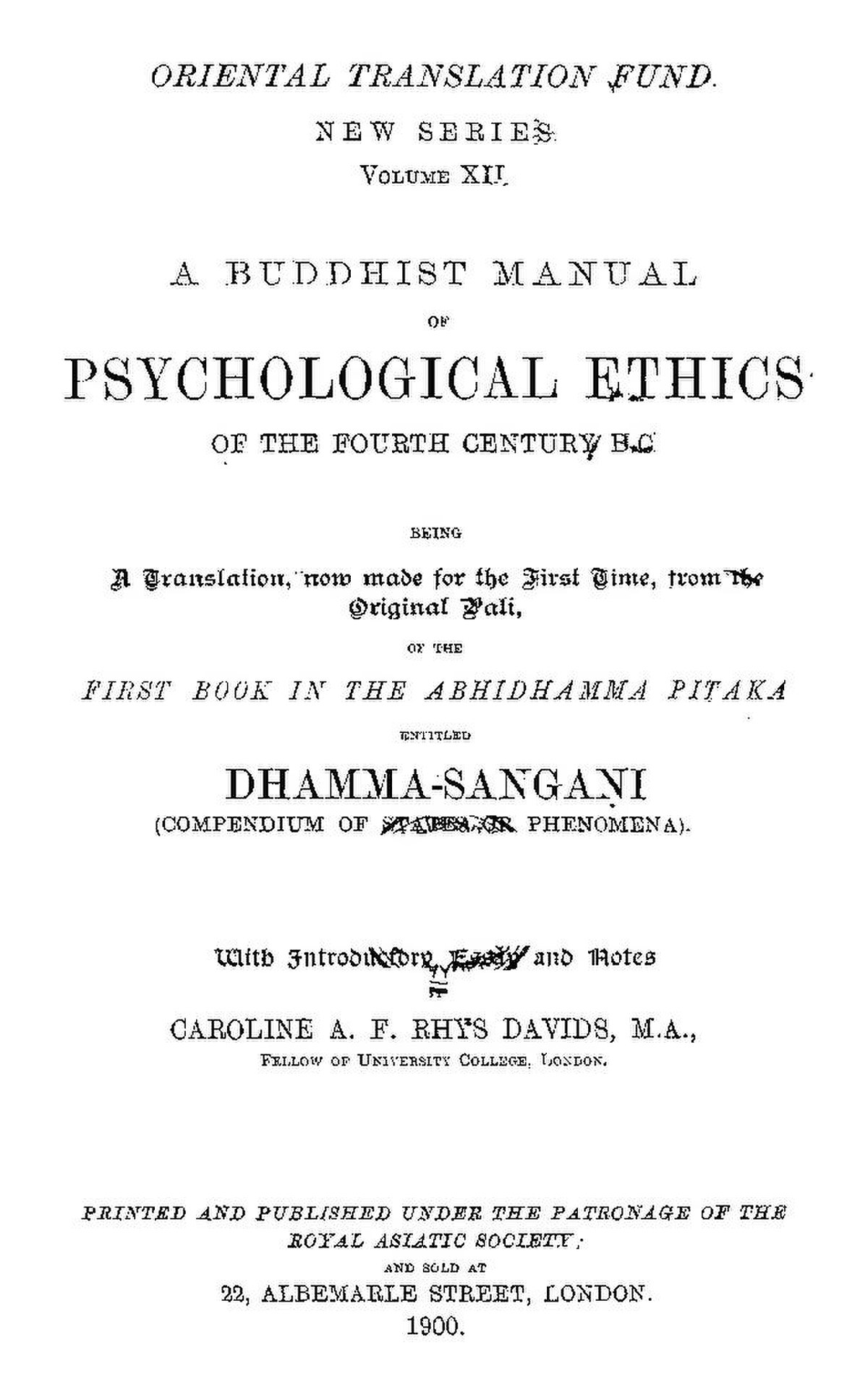 File:Buddhist Manual Of Psychological Ethics Of The Fourth Century ...