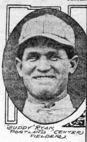 Buddy Ryan (baseball) - Image: Buddy Ryan (3) Portland Beavers