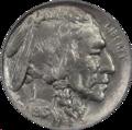 Buffalo Nickel 1913 Type 1 Obverse.png
