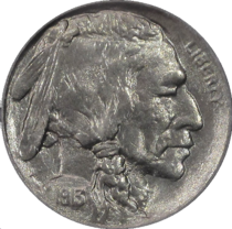 Buffalo Nickel 1913 Type 1 Obverse.png