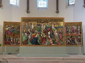Buhl Altarpiece - Image: Buhl St Jean Baptiste 25