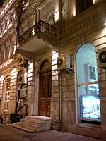 Buildings in Istiglaliyyat Street of Baku, 35.jpg