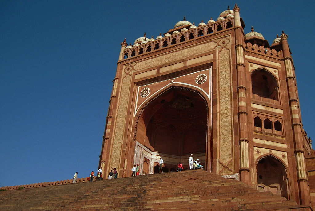 Buland Darwaza at Fatehpur Sikri in Agra,India