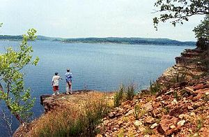 Bull Shoals Lake - Image: Bull Shoals