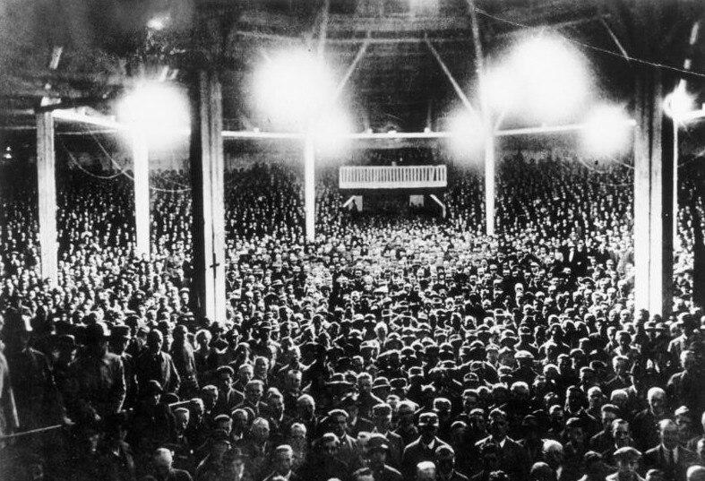 Bundesarchiv Bild 146-1972-001-07, München, Zirkus Krone, Rede Hitler