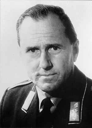 Günther Rall - Günther Rall as Inspector of the Air Force of West Germany, 1970s