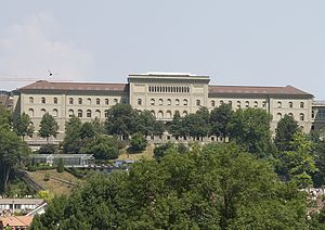 Federal Department of Justice and Police - The west wing of the Federal Palace of Switzerland.