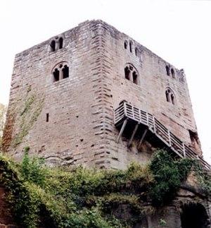 Château du Nouveau-Windstein - Image: Burg Neuwindstein 1