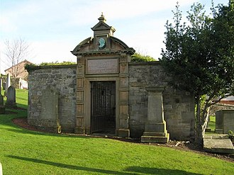 William Cullen - Burial enclosure of William and Robert Cullen in Kirknewton