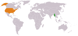 Myanmar–United States relations Diplomatic relations between the Republic of the Union of Myanmar and the United States of America