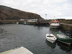 Burnmouth - Burnmouth Harbour