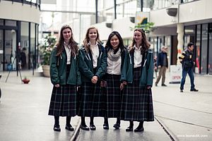 Burnside High School - Burnside High School girls