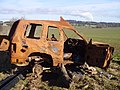 Burnt out vehicle - geograph.org.uk - 1735324.jpg