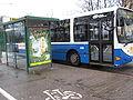 Bussi 80 Roihuvuoren porolahdessa.JPG