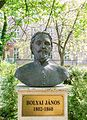 Bust of János Bolyai at the Miklós Zrínyi Military Academy.jpg