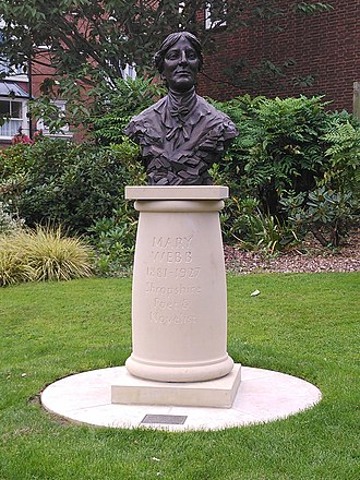 Mary Webb - Image: Bust of Mary Webb