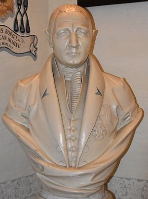 "Vincenzo Borg - Bust of Vincenzo Borg, ""Brared"", at the St Helen's Basilica Museum"