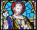 Buttevant St. Mary's Church West Transept Window Lower Lights Saint Joseph Detail 2012 09 08.jpg