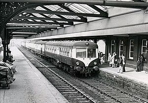Lisburn railway station - The station in 1974