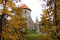 Cēsu pils rudenī. Cesu castle in autumn - panoramio (1).jpg