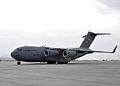 C-17 preparing to park at Kabul International Airport in 2011.jpg