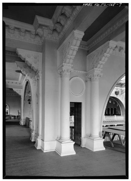File casino second floor column details alcazar hotel for Flooring st augustine