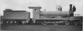 1884 in South Africa - CGR 3rd Class 4-4-0