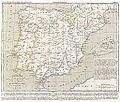 CHAO(1849) Atlas Historico Geografico de España - Mapa 6 (1214-1492).jpg