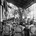 COLLECTIE TROPENMUSEUM Nederlandse militairen tijdens de viering in Makassar van het 120-jarig bestaan van de Koninklijke Militaire Academie (KMA) TMnr 10028461.jpg