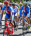 CZE Roman Kreuziger and Jan Bárta at 2012 Summer Olympics – Mens road race cropped.jpg